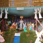 Beautiful Christmas crib at Palapallam, Kanyakumari district